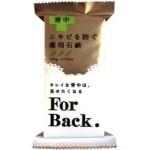 ペリカン石鹸『FOrBack』は背中ニキビに効果的らしい。